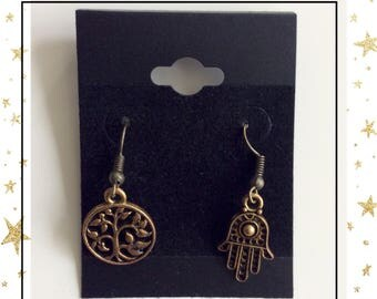 Meditation earrings