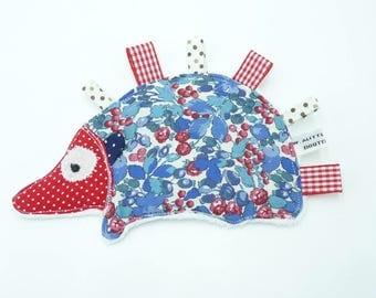Taggy blanket baby girl Hedgehog original ' 'Louise '.