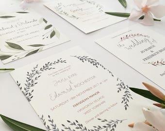 Wedding Stationery Sample Pack
