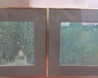 Gustav Klimt framed prints of