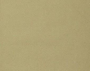 Plain gold sparkly cotton fabric coupon