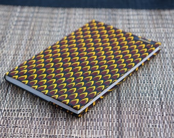 Diary cover removable wax
