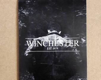 Winchester magnet / Supernatural magnet / Dean Winchester