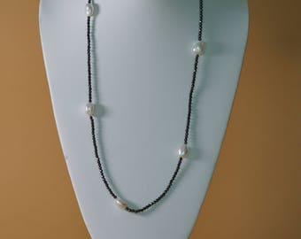 Handmade Beaded Pearl Necklace