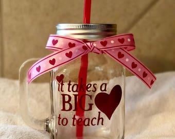 Mason Jar, Valentines Day gift