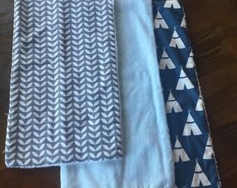 Boys Burp Cloth Gift Seti