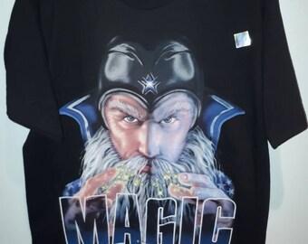 90's Orlando Magic Deadstock Vintage Magician t-shirt size L official NBA tee