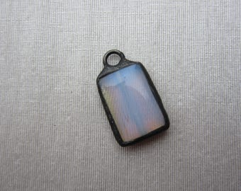 Hand Soldered Small Opaline Pendant