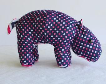 Baby Hippo Plush Toy