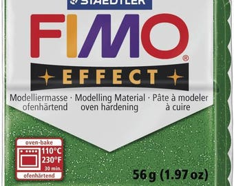 Fimo 57 g glitter Effect green 8020.502 - polymer clay