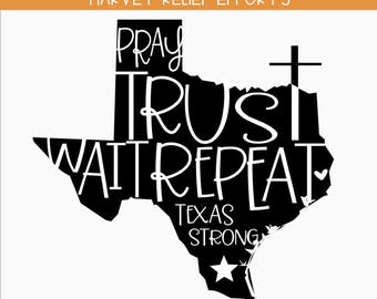 Texas Strong SVG, Texas, Southern Svg, Hurricane Relief SVG - All proceeds  WILL be donated to Hurricane Relief Efforts.