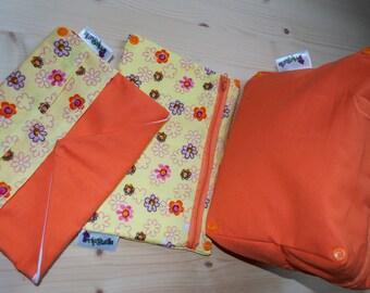 Case yellow-orange flower