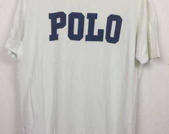 Vintage 90s Polo Ralph Lauren T Shirt Size M