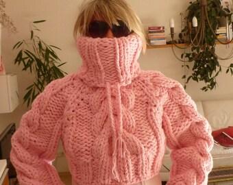 Non mohair Merino sweater pullover