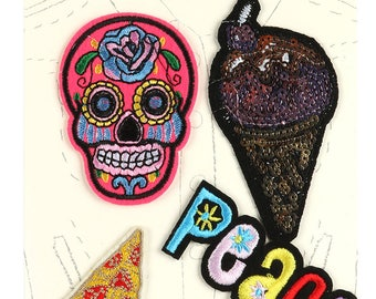 Adorable Iron On Fabric Patches