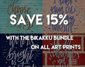 Bikakku Bundle 1 (Art Prints)