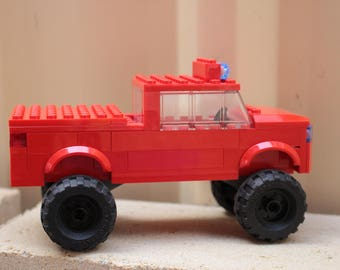 Red Lego Truck