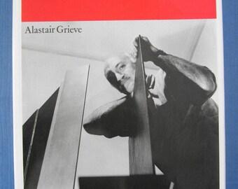The Sculpture of Robert Adams by Alastair Grieve - FIRST EDITION VG