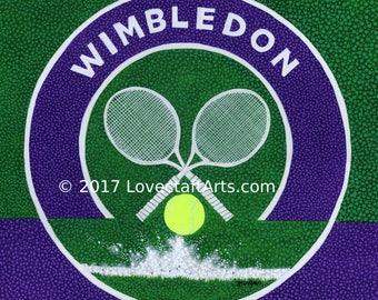 Wimbledon, Digital Print