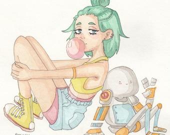 Bubble Gum Bot