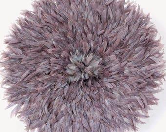 Juju Hat Gris Pastel / Feather Hat Pastel Grey