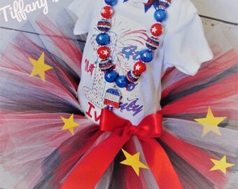 My 1st 4th Fourth Of July Tutu Set