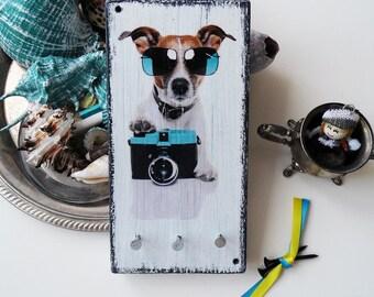 Key Hooks, Key Holder,  Key Organizer, Key Storage, Key Holder dog