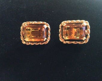 Vintage Sarah Coventry clip on earrings
