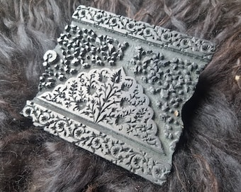 Hand Carved Wooden Fabric Printing Block
