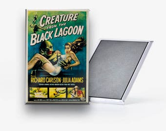 Creature from the Black Lagoon Movie Poster Refrigerator Magnet 2x3