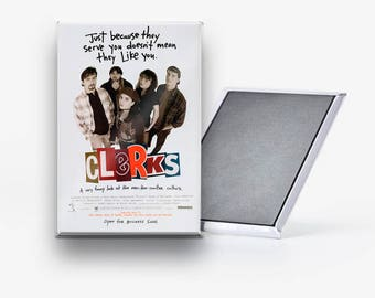 Clerks Movie Poster Refrigerator Magnet 2x3