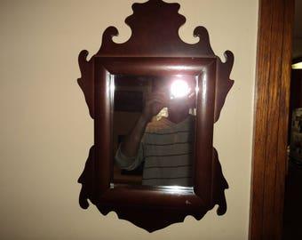 Antique shaving mirror