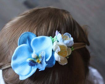 Baby Flower Crown - Photo Prop