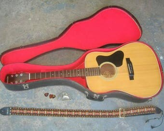 1970s Guild Madeira Acoustic Guitar
