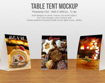 Tent Card Mockup, Styled Stock Photography, Table tent Mockup, Branding Mockup, Party card mockup- Instant Digital Download