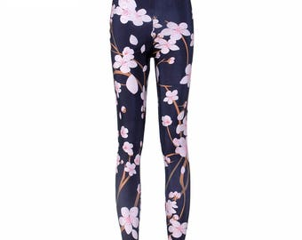 Floral Leggings Plus Size