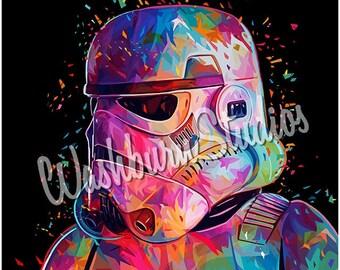 Star Wars Stormtrooper Graphic Art Print