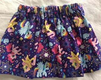 My Little Pony Toddler Skirt