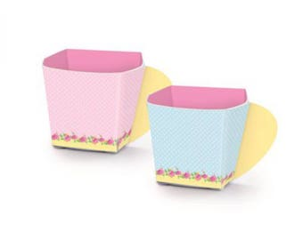 Girls Tea Party Cup Box