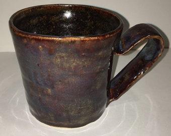 Thrown Mug with Hand-made Handle 14