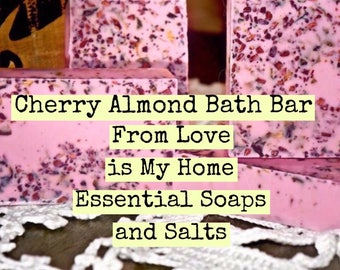 Cherry Almond Bath Bar