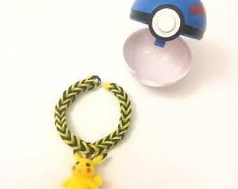 Pokeball Party Favor, Pokemon Party, Pikachu Party Favor, Pokemon Bracelet, Pokeball Gift, Pokeball Toy