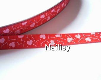 1 meter of Ribbon print under 25