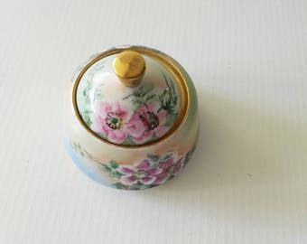 Bavarian gilded china box