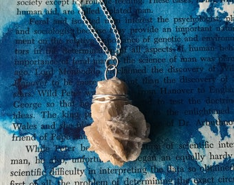 Desert Rose Stone Necklace