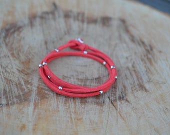 Bracelet Coral Suede