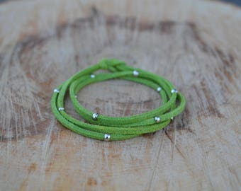 Bracelet AUREL - Green color