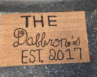 Personalized Door Mat-Custom Door Mat-Door Mat-Door Mat Personalized