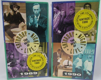 The Best Of Saturday Night Live 1989 & 1990 VHS Tapes