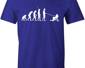Evolution of Walkies Men's T-shirt